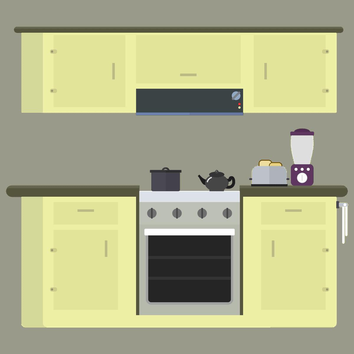 מטבח מצויר