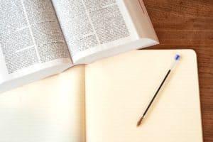 ספר, מחברת ועט של עו